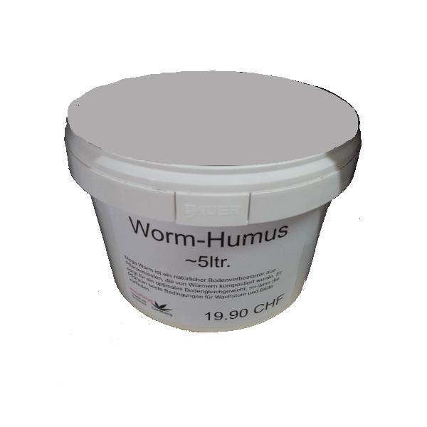 Wurm- Humus ca. 5ltr.