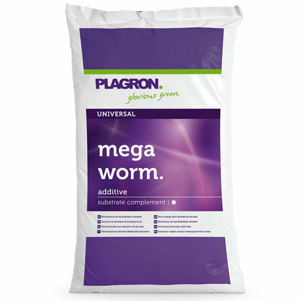 Plagron Dünger Mega Worm (Wurmmist), 25ltr.