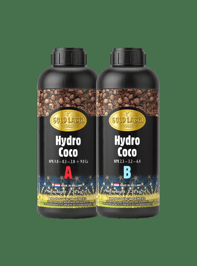 Gold Label - Hydro Coco A&B, 1ltr.