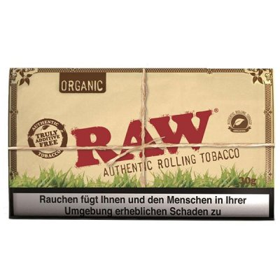 RAW Tabak ohne Zusatzstoffe Classic Virginia Style