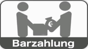 Barzahlung im Shop