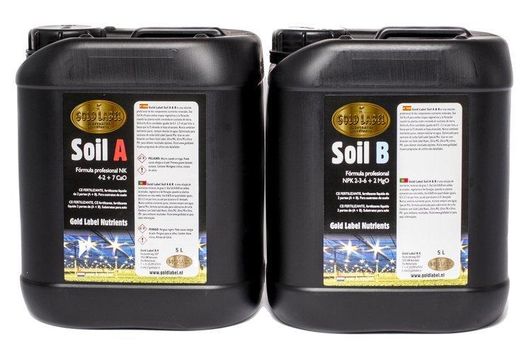 Gold Label - Soil A&B, 5ltr.
