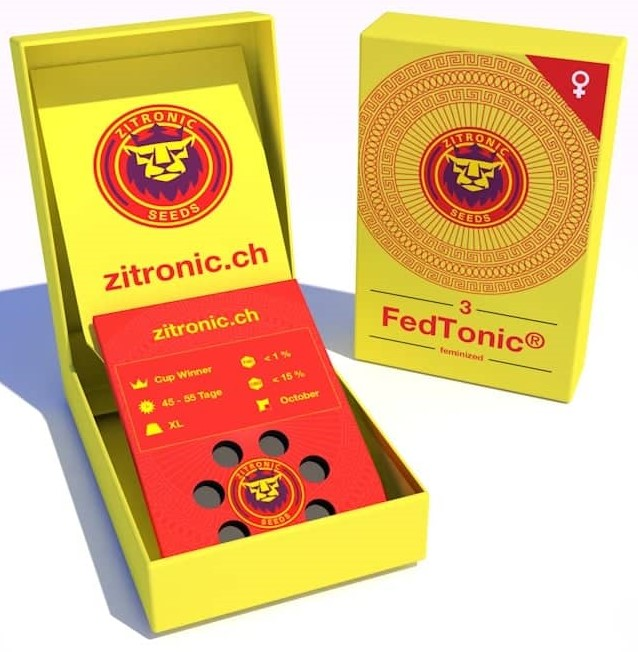 FedTomic®, Cannatonic - Zitronic