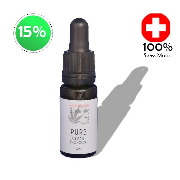 CBD Pure 15%, 30ml