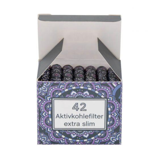 420z Aktivkohlefilter Xtra-Slim - 42 Tips