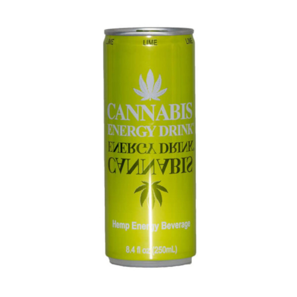 Cannabis Energiegetränk Lime (Limette)