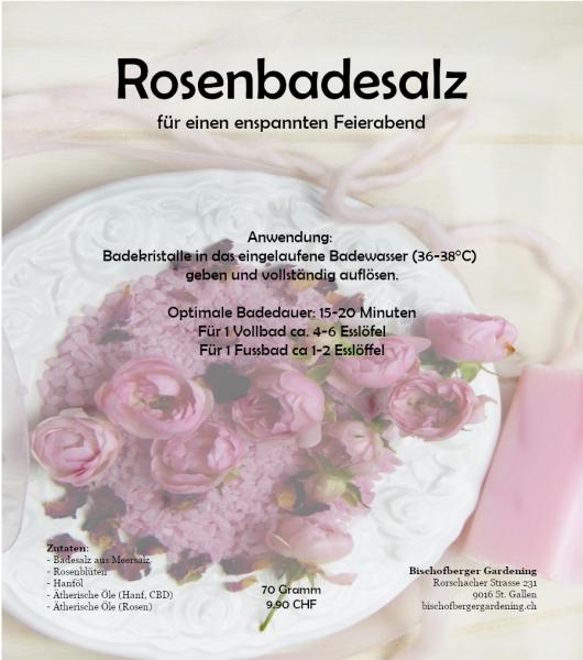 Rosen Badesalz - für einen Enspannten Feierabend