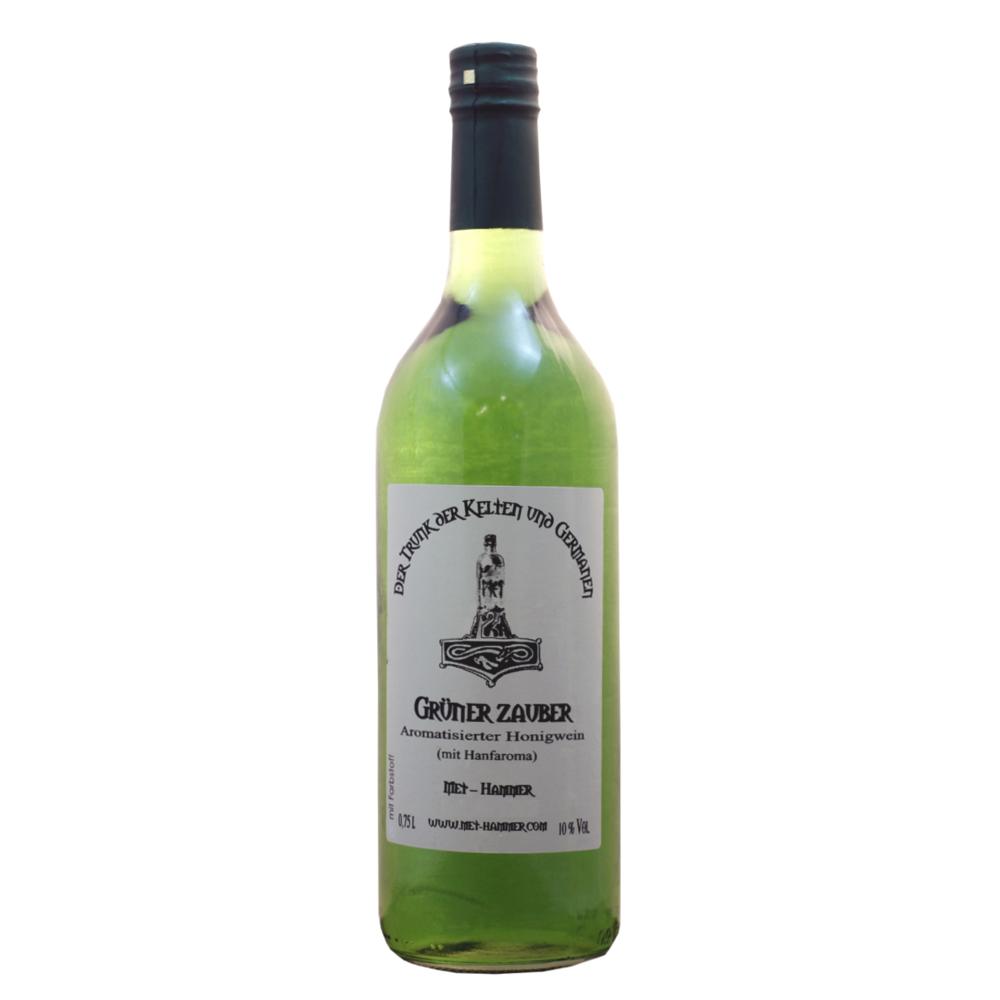 Grüner  Zauber - Honigwein mit Hanfaroma